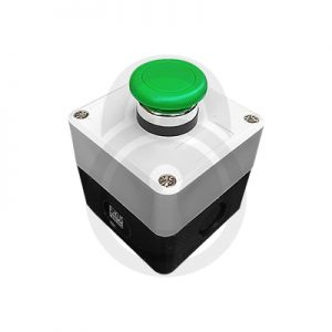 Heavy Dutty Push Button Green